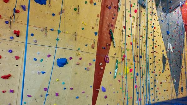 Mur d'escalade - Gymnase de la ZAC - Grigny